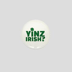 Yinz irish Mini Button