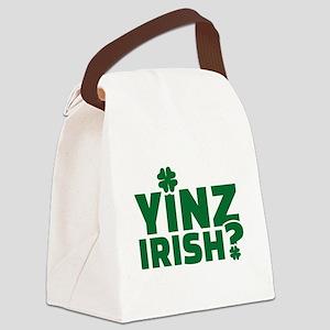 Yinz irish Canvas Lunch Bag