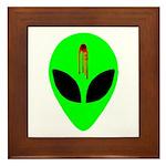 Dead Alien Framed Tile