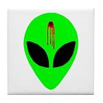 Dead Alien Tile Coaster