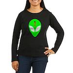 Dead Alien Women's Long Sleeve Dark T-Shirt