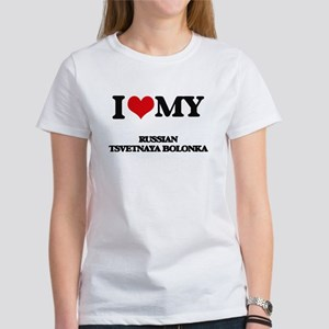 I love my Russian Tsvetnaya Bolonka T-Shirt