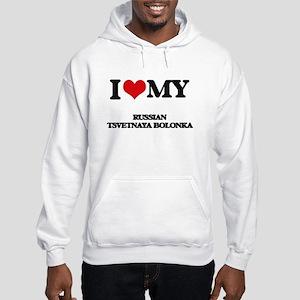 I love my Russian Tsvetnaya Bolo Hooded Sweatshirt