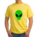 Dead Alien Yellow T-Shirt