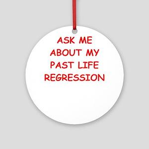 past life regression Ornament (Round)