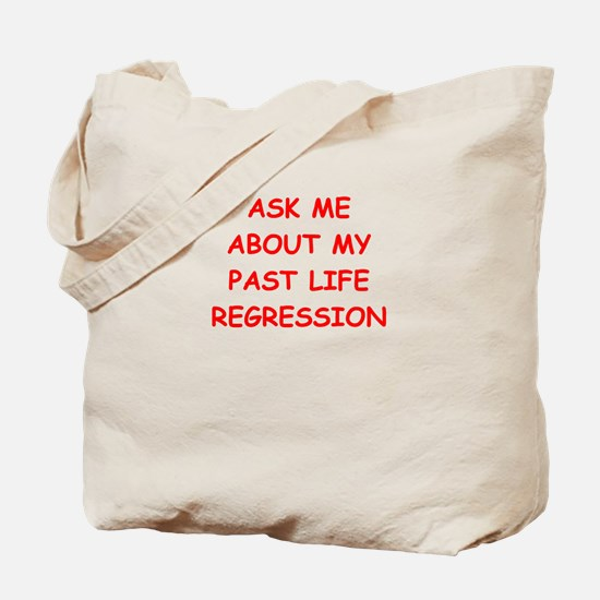 past life regression Tote Bag
