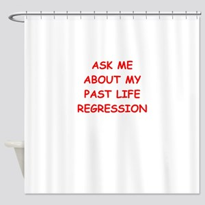 past life regression Shower Curtain