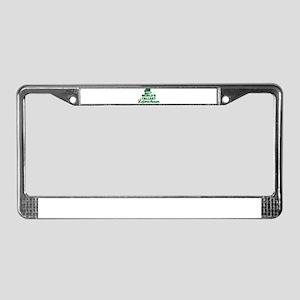 World's tallest Leprechaun License Plate Frame