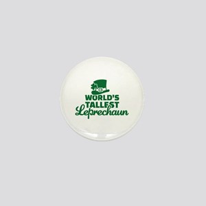 World's tallest Leprechaun Mini Button