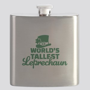 World's tallest Leprechaun Flask
