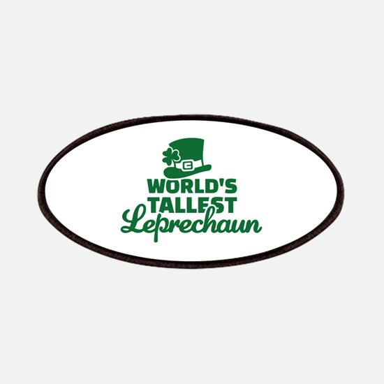 World's tallest Leprechaun Patches