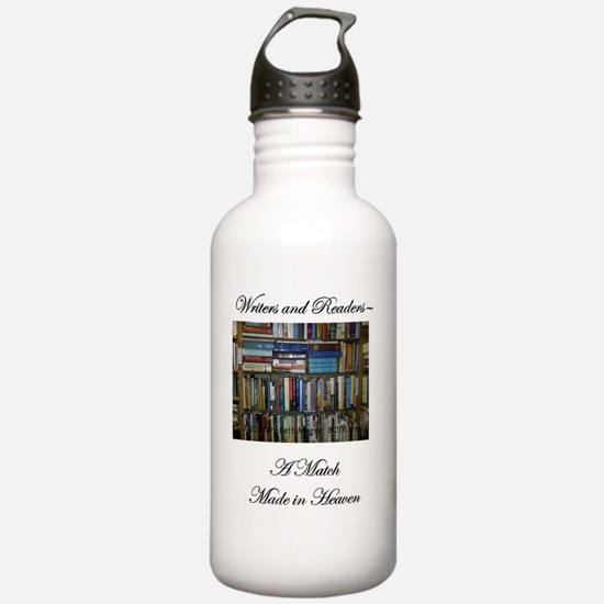 Writers and Readers Water Bottle