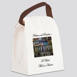 Writers and Readers Canvas Lunch Bag