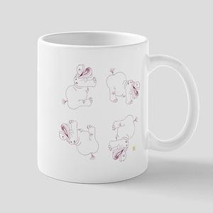 Happy Hippo Divine Perfection Pattern 1 Mug