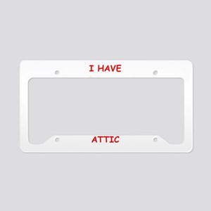 sic joke License Plate Holder