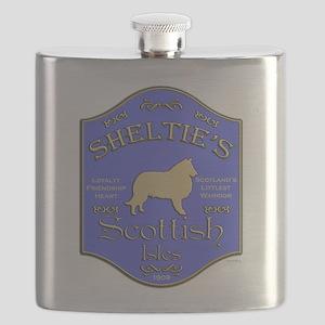 Shelties Pub Flask