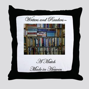 Writers and Readers Throw Pillow