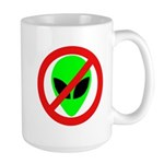 No More Aliens Large Mug