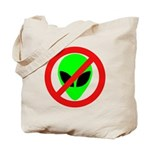 No More Aliens Tote Bag