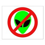 No More Aliens Small Poster