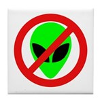 No More Aliens Tile Coaster