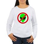 No More Aliens Women's Long Sleeve T-Shirt