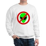 No More Aliens Sweatshirt