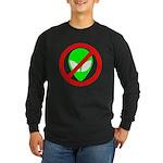 No More Aliens Long Sleeve Dark T-Shirt