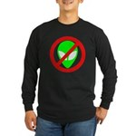 No More Aliens Long Sleeve Dark T-Shirt
