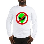 No More Aliens Long Sleeve T-Shirt