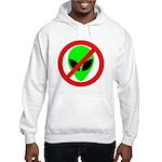 No More Aliens Hooded Sweatshirt