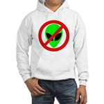 No More Aliens Hooded Sweatshirt