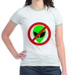 No More Aliens Jr. Ringer T-Shirt