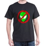 No More Aliens Dark T-Shirt