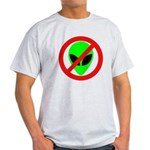 No More Aliens Light T-Shirt