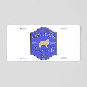 Shelties Pub Aluminum License Plate