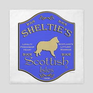 Shelties Pub Queen Duvet