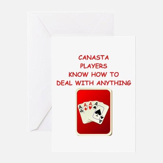 canasta Greeting Cards