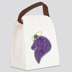 sheltie angle (W) Canvas Lunch Bag