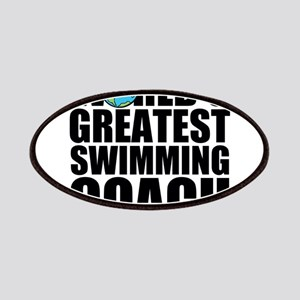 World's Greatest Swimming Coach Patch