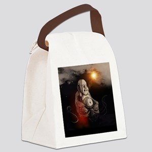 Buddha Canvas Lunch Bag