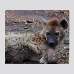 Hyena Throw Blanket