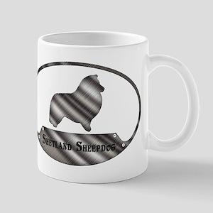 Shetland Sheepdog Plaque (T) Mugs