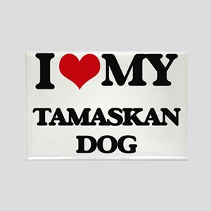 I love my Tamaskan Dog Magnets