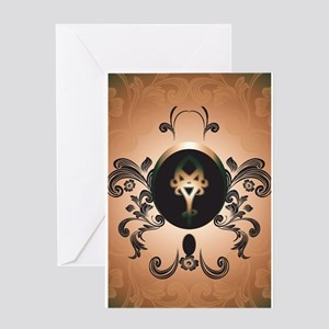 Insight, foresight rune Greeting Cards
