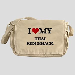 I love my Thai Ridgeback Messenger Bag