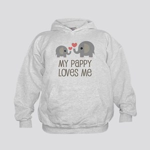 My Pappy Loves Me Gift Sweatshirt