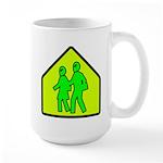 Alien School Xing Large Mug