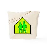 Alien School Xing Tote Bag