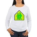 Alien School Xing Women's Long Sleeve T-Shirt